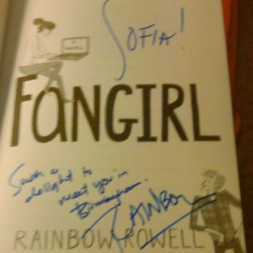 Signing of Fangirl