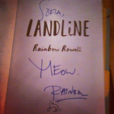 Signing of Landline