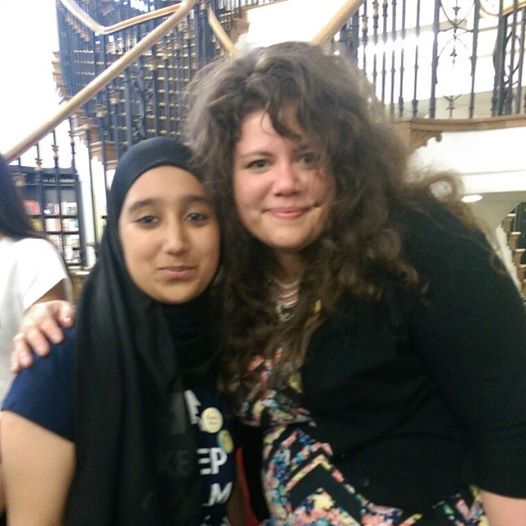 My picture with Rainbow Rowell.