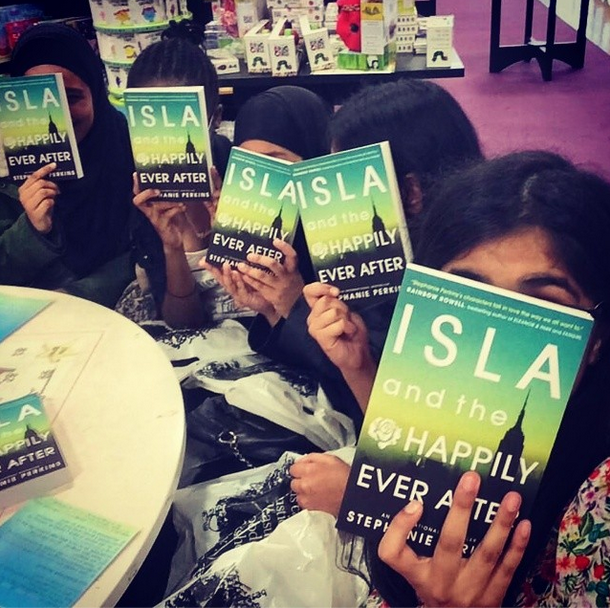 At the Isla readathon.