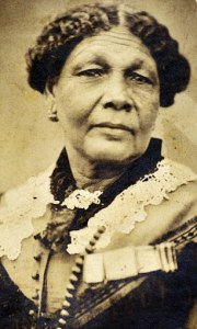 Mary Jane Seacole (1805-1881), Jamaican born British Crimean War nurse, portrait. Also known as Mother Seacole.     Date: C.1850s