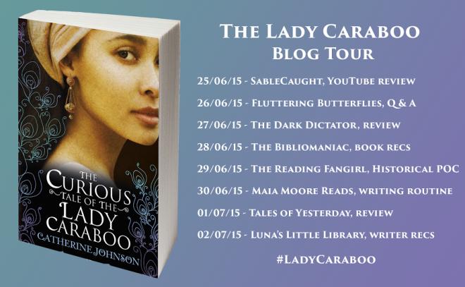 lady caraboo blog tour